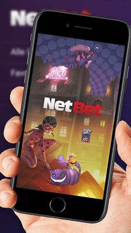 Aplicativo da NetBet para celular