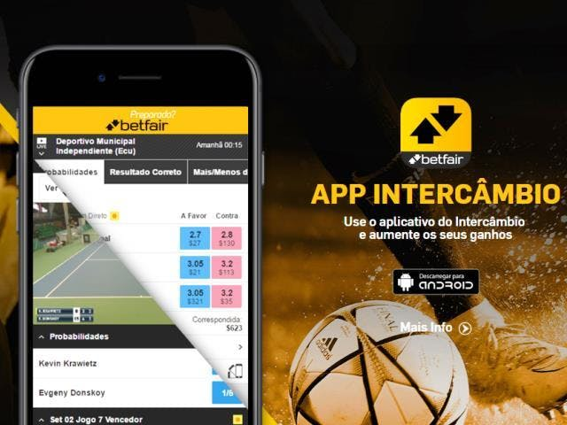 aplicativo da Betfair para celular para Android E iPhone