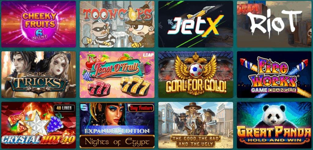 Bet22 catálogo de jogos