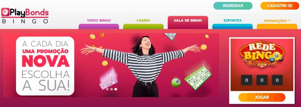Bingo online gratis na Playbonds