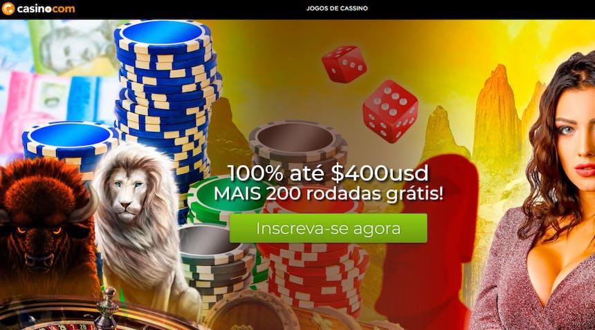bônus e promoções da Casino.com