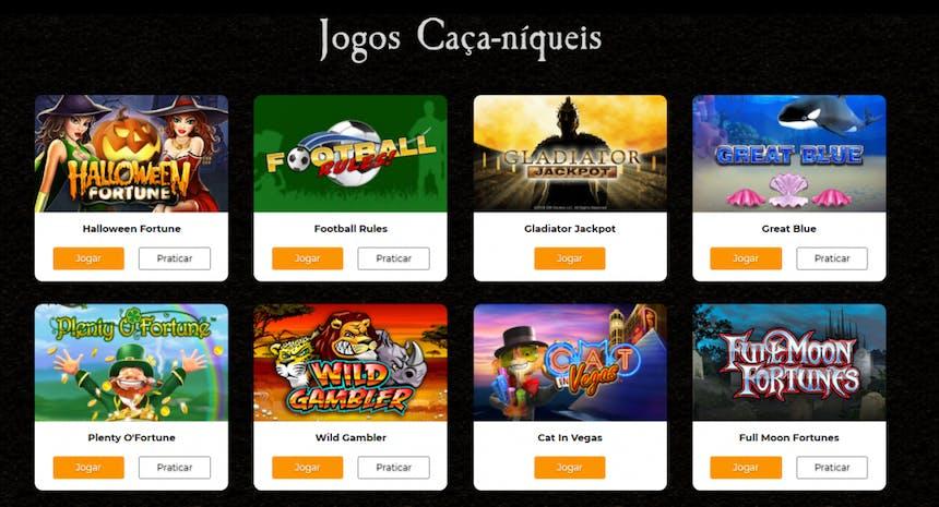 Jogos de cassino da Casino.com