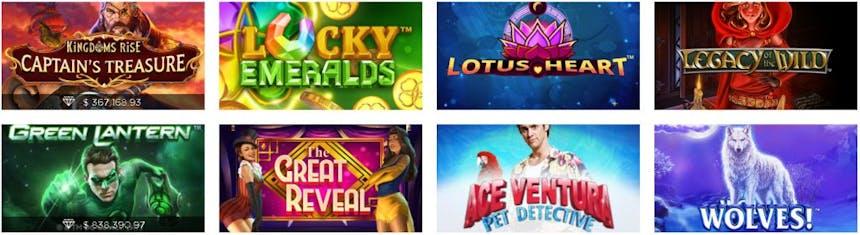 slots e caça-níqueis na Casino.com