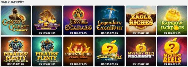 Daily jackpot na Net Bet
