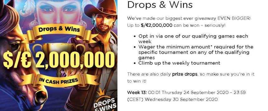 Drops & Wins da Casino.com