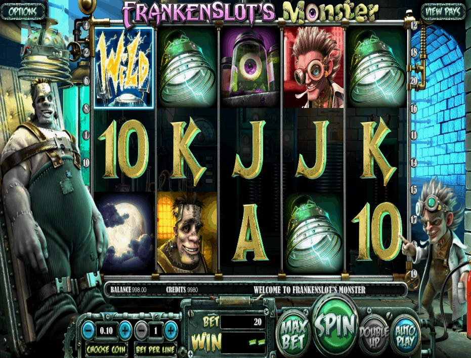 caça-níquel Frankenstein