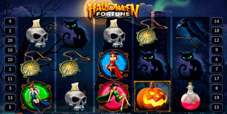 Slots como o tema Halloween