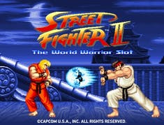 Street Fighter 2 World Warrior logo