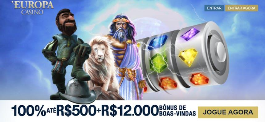 bônus e promoções da Europa Casino