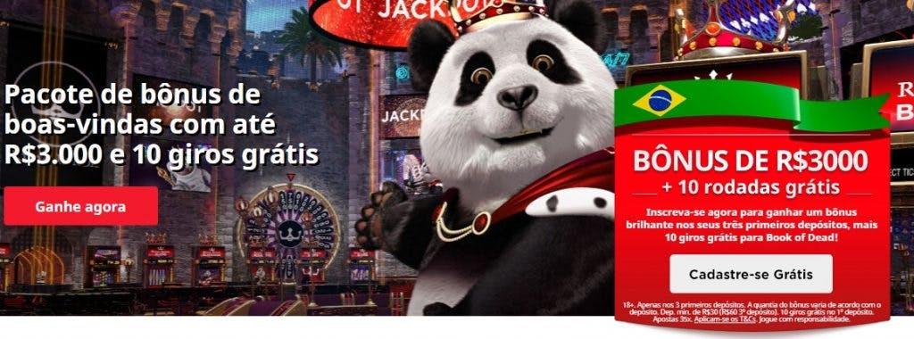 bônus e promoções da Royal Panda