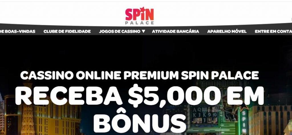 Bônus e promoções da Spin Palace