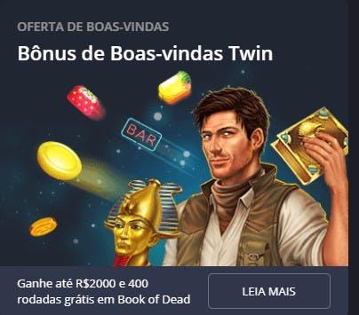 bônus e promoções da Twin