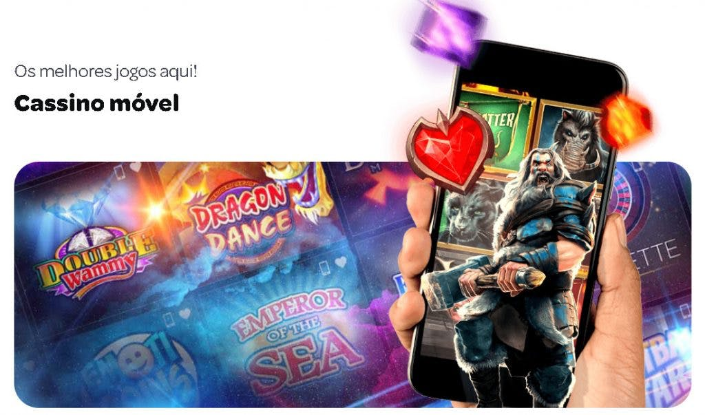 aplicativo da Spin Casino para celular para Android E iPhone