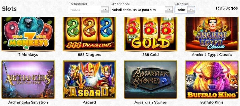 slots e caça-níqueis na Unique Casino