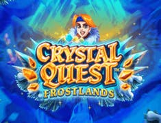 Crystal Quest Frostlands logo