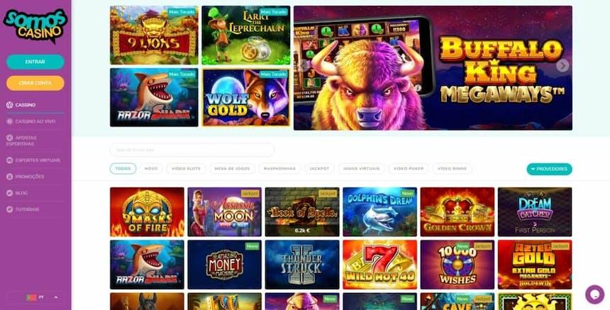 Melhores Jogos de Slot Machines Online em Somos